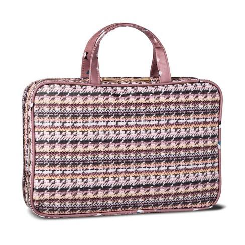 Sonia Kashuk Cosmetic Bag Weekender Broken Houndstooth