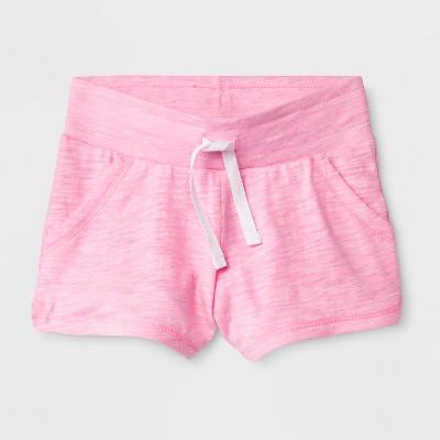 Toddler Girls' Trouser Shorts - Cat & Jack™ Pink 18M