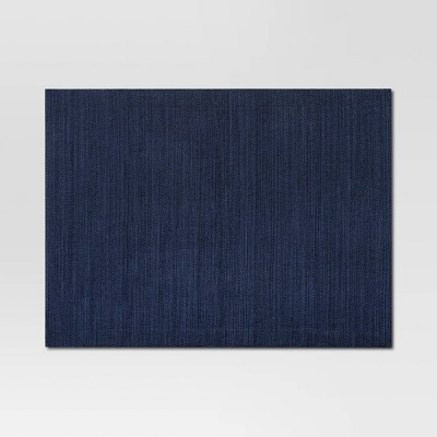 Cotton Solid Placemat Blue - Threshold™