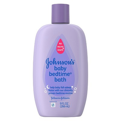 Johnson & Johnson Baby Bedtime Bath 9 oz