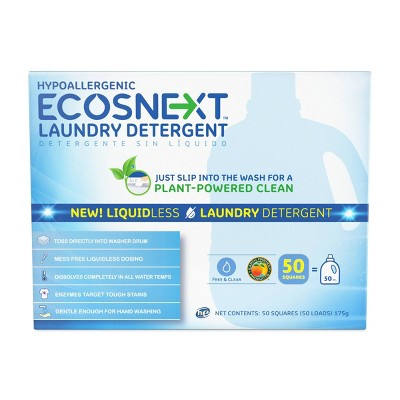 ECOS Next Liquidless Laundry Detergent Sheet - 50ct