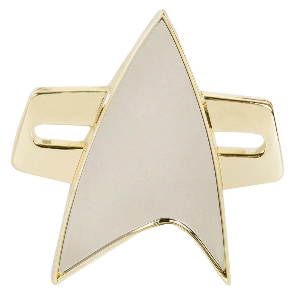 Quantum Mechanix Star Trek: Voyager Communicator Badge, Grey