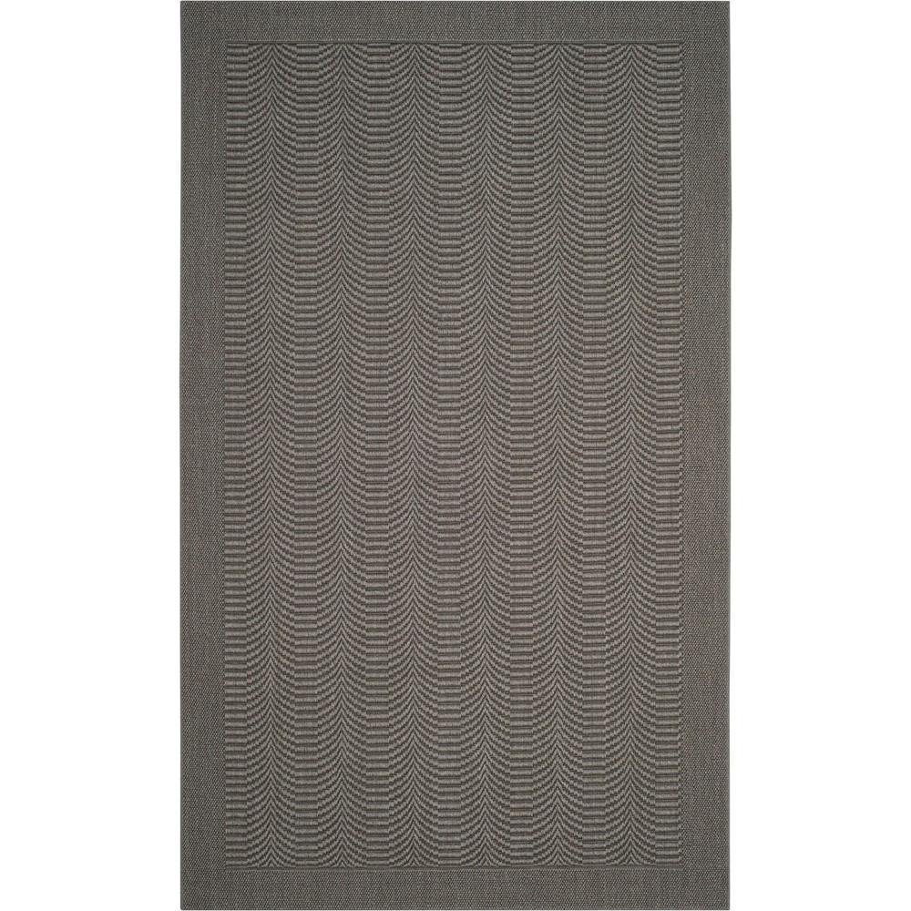 5'X8' Solid Loomed Area Rug Ash/Light Gray (Grey/Light Gray) - Safavieh