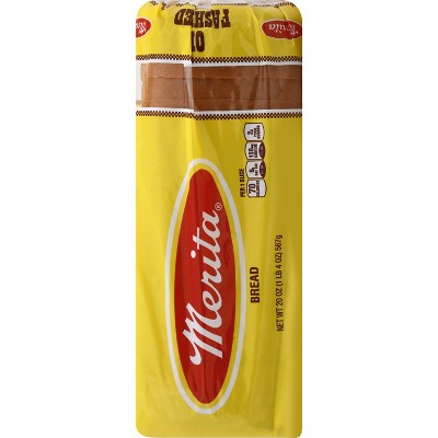 Merita Old Fashion White Bread - 20oz