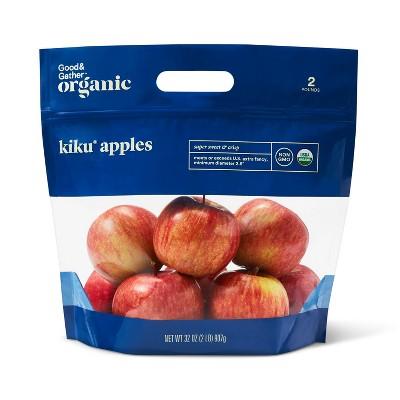 Organic Kiku Apples - 2lb Bag - Good & Gather™