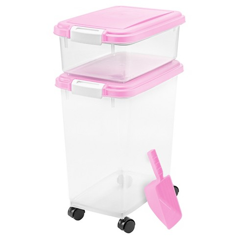 IRIS Airtight Pet Food Storage Set - image 1 of 4