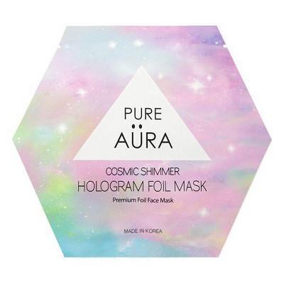 Pure Aura Cosmic Shimmer Foil Mask - 0.88 fl oz