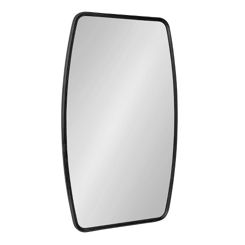 "20"" x 32"" Caskill Irregular Wall Mirror Black - Kate & Laurel All Things Decor - image 1 of 4"
