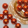 "Northlight 32ct Shatterproof Shiny Christmas Ball Ornament Set 3.25"" - Orange - image 2 of 2"