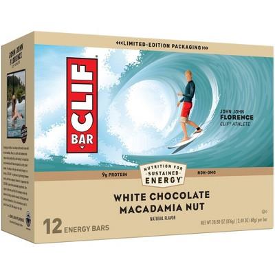 CLIF Bar White Chocolate Macadamia Nut Energy Bars