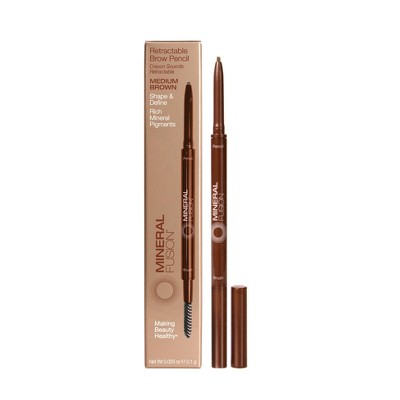 Mineral Fusion Retractable Eyebrow Pencil - 0.003oz