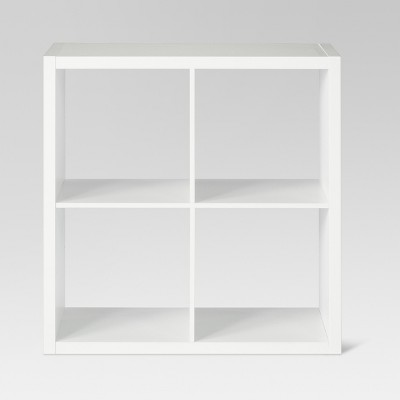 "13"" 4 Cube Organizer Shelf White - Threshold™"