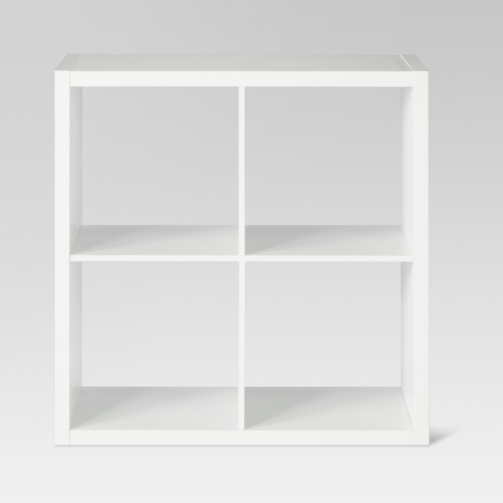 4-Cube Organizer Shelf White 13 - Threshold