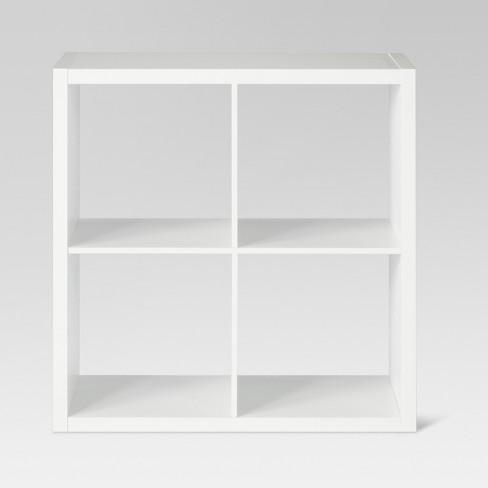 "4-Cube Organizer Shelf 13"" - Threshold™ - image 1 of 3"