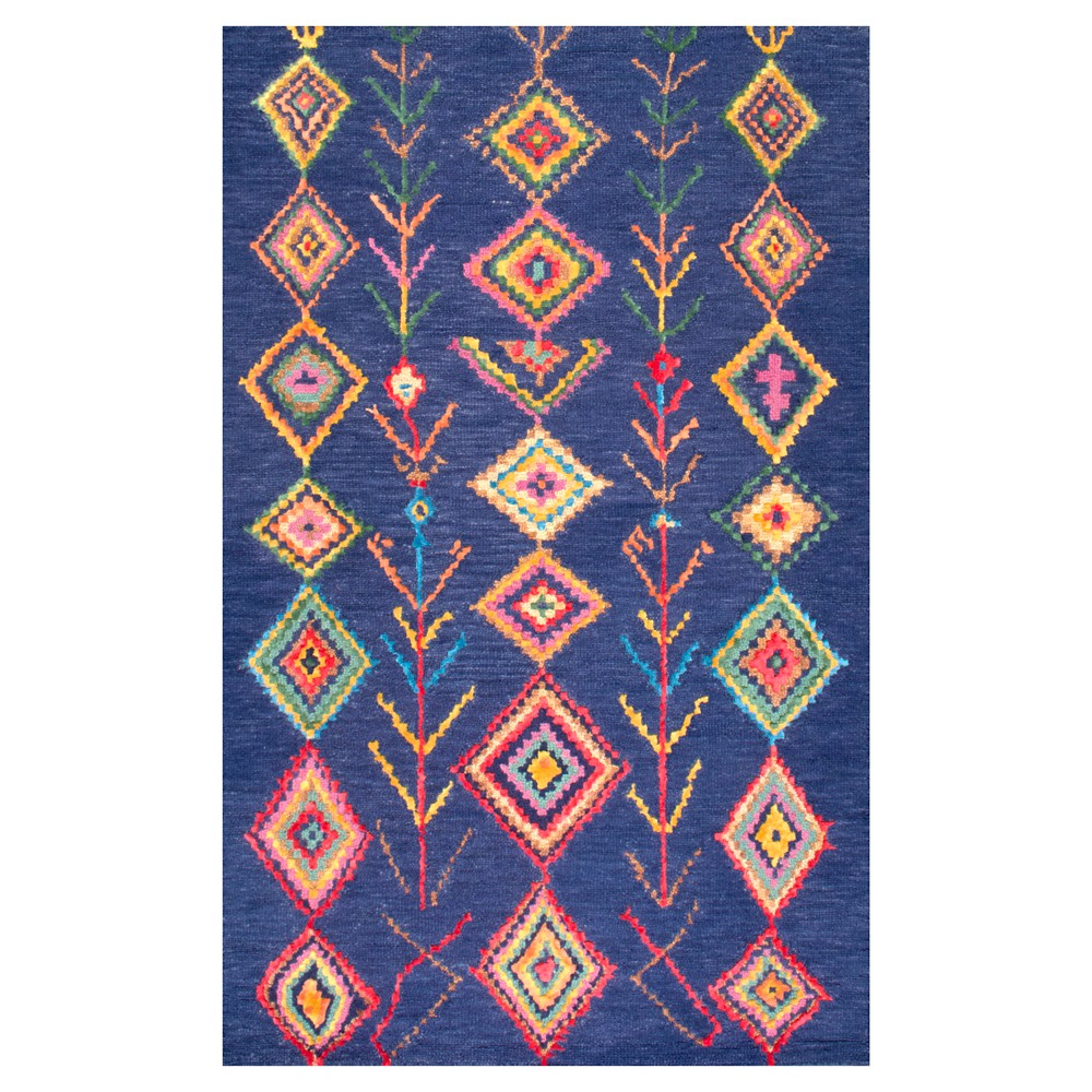 nuLOOM Hand Tufted Belini Area Rug - Blue (8' 6