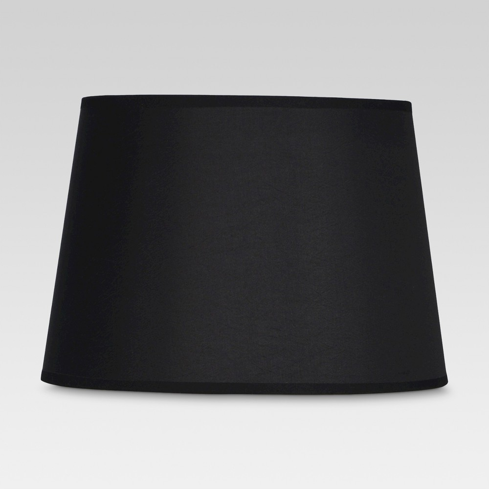 Image of Gold Lined Small Lamp Shade Black - Threshold