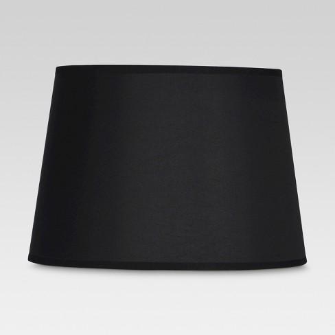 Gold Lined Small Lamp Shade Black, Harp Lamp Shade Target