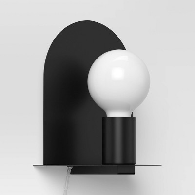 LED Sconce Wall Light Black - Project 62™