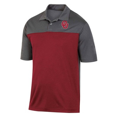 NCAA Oklahoma Sooners Men's Short Sleeve Polo Shirt