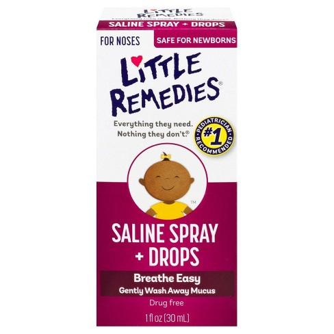 Little Remedies Saline Spray/Drops - 1 fl oz - image 1 of 4