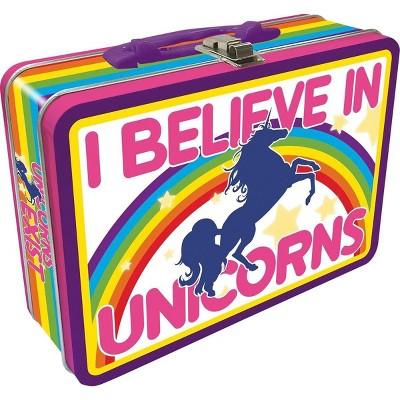 NMR Distribution I Believe In Unicorns Tin Lunch Box
