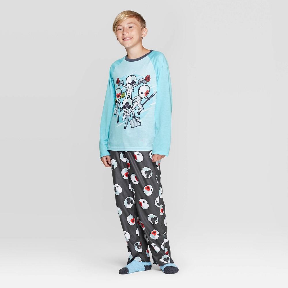 Image of Boys' Fortnite 2pc Pajama Set - Blue L, Boy's, Size: Large