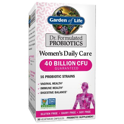 Garden of Life Women's Probiotics Daily Care Capsules - 30ct