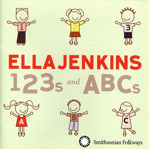 Ella jenkins - 123s and abcs (CD) - image 1 of 2