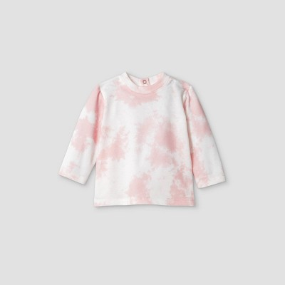 Grayson Mini Baby Girls' Tie-Dye Sweatshirt - Pink Newborn