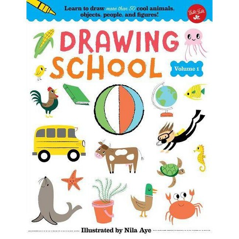 Drawing School--Volume 1 - (Hardcover) - image 1 of 1