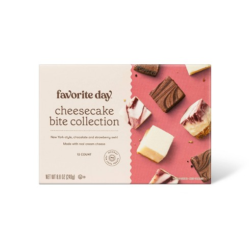 Frozen Cheesecake Bite Collection - 8.5oz - Favorite Day™ - image 1 of 2