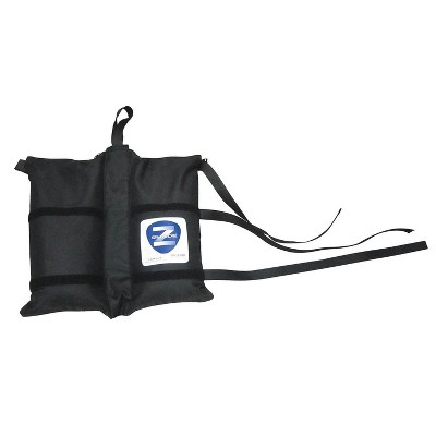 Z-Shade 4 Instant Outdoor Canopy Tent Shelter Wrap Around Leg Weight Bags, Black