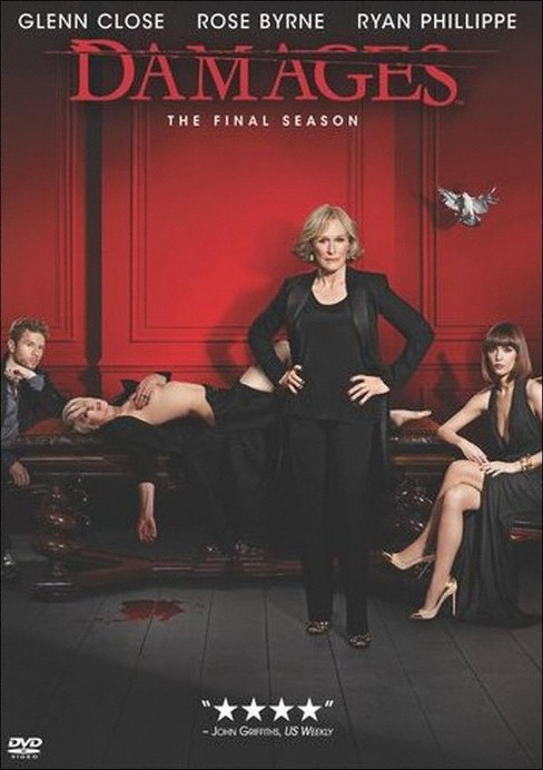 Damages: The Complete Fifth Season (3 Discs) (dvd_video) - image 1 of 1