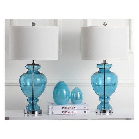 Clear Glass Table Lamp Set Of 2 Safavieh Target