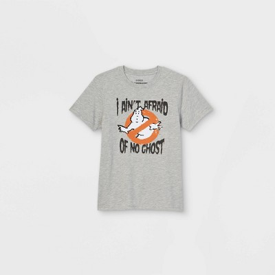 Boys' Ghostbusters Short Sleeve Graphic T-Shirt - Heather Gray