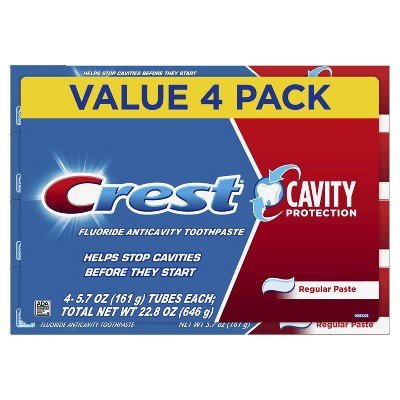 Toothpaste: Crest Cavity Protection