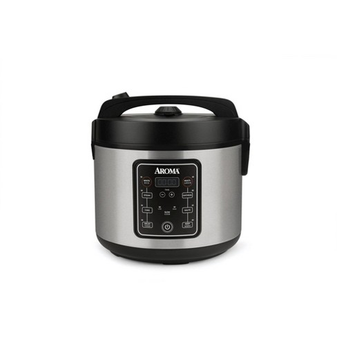 Aroma 20 Cup Digital Multicooker & Rice Cooker - Stainless Steel - image 1 of 4