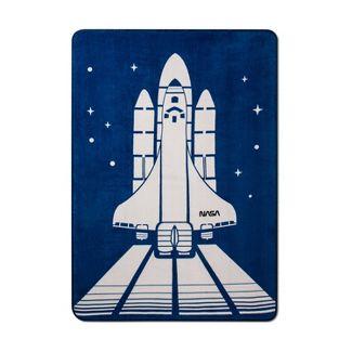 NASA Full Blast Off Bed Blanket