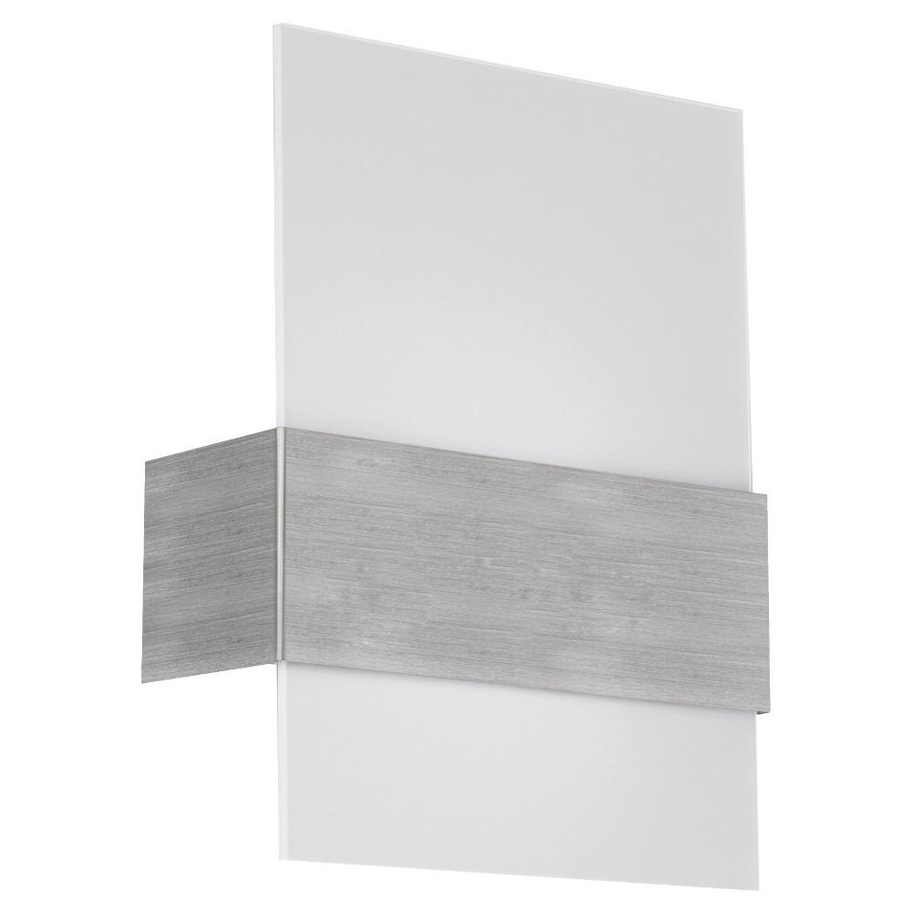 "Image of ""Nikita Wall Light 11.5"""" Matte Nickel - Eglo"""