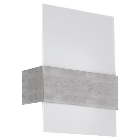 "Nikita Wall Light 11.5"" Matte Nickel - Eglo - image 1 of 1"