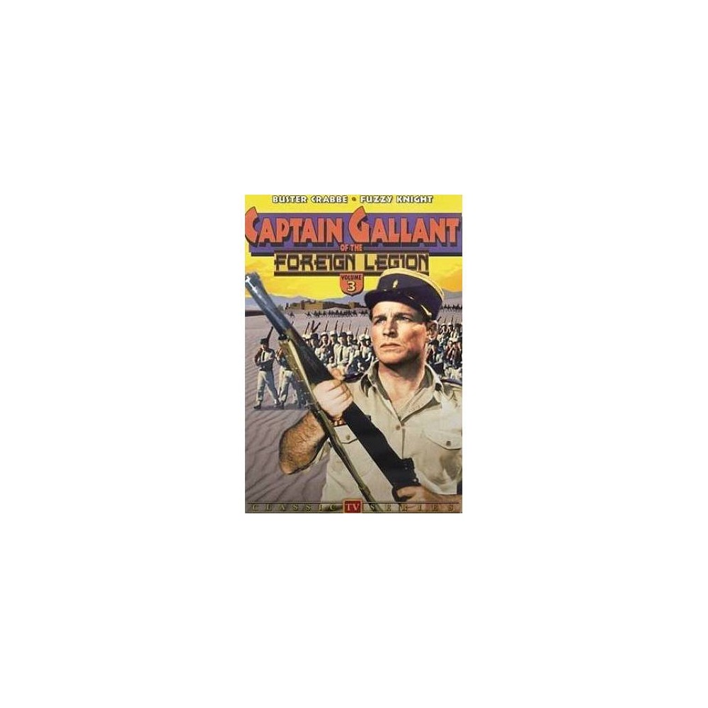 Captain Gallant Of The Foreign Legion (Dvd)