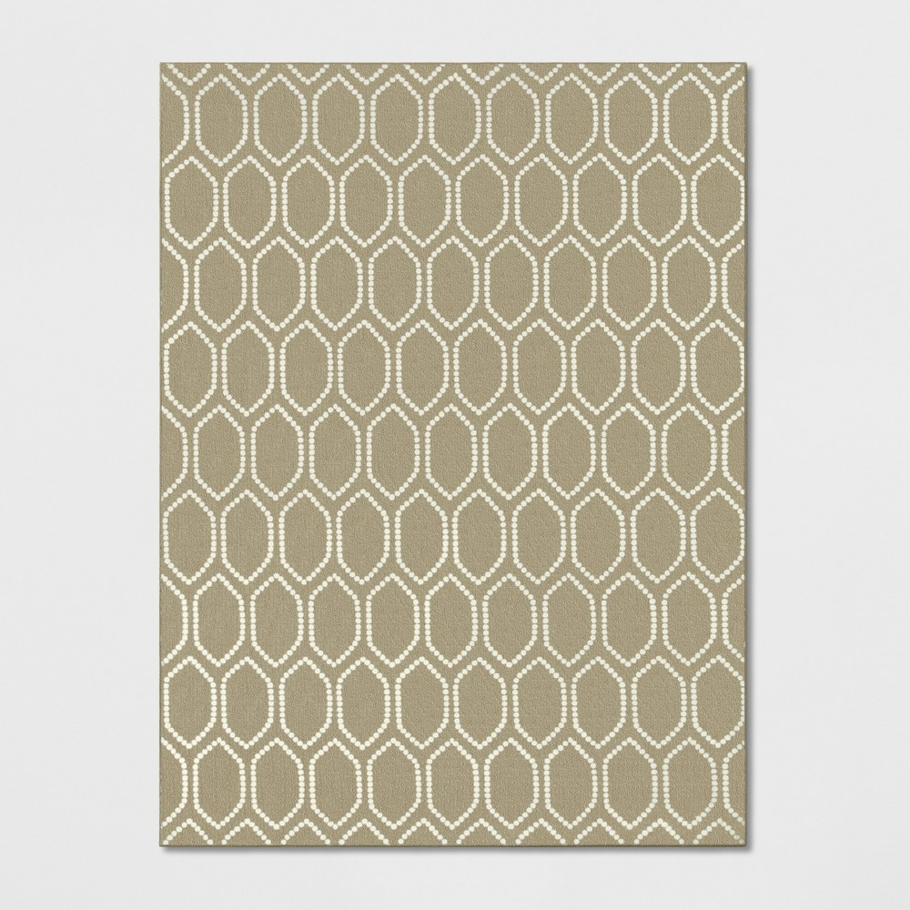 9'X12' Geometric Tufted Area Rugs Oatmeal - Threshold