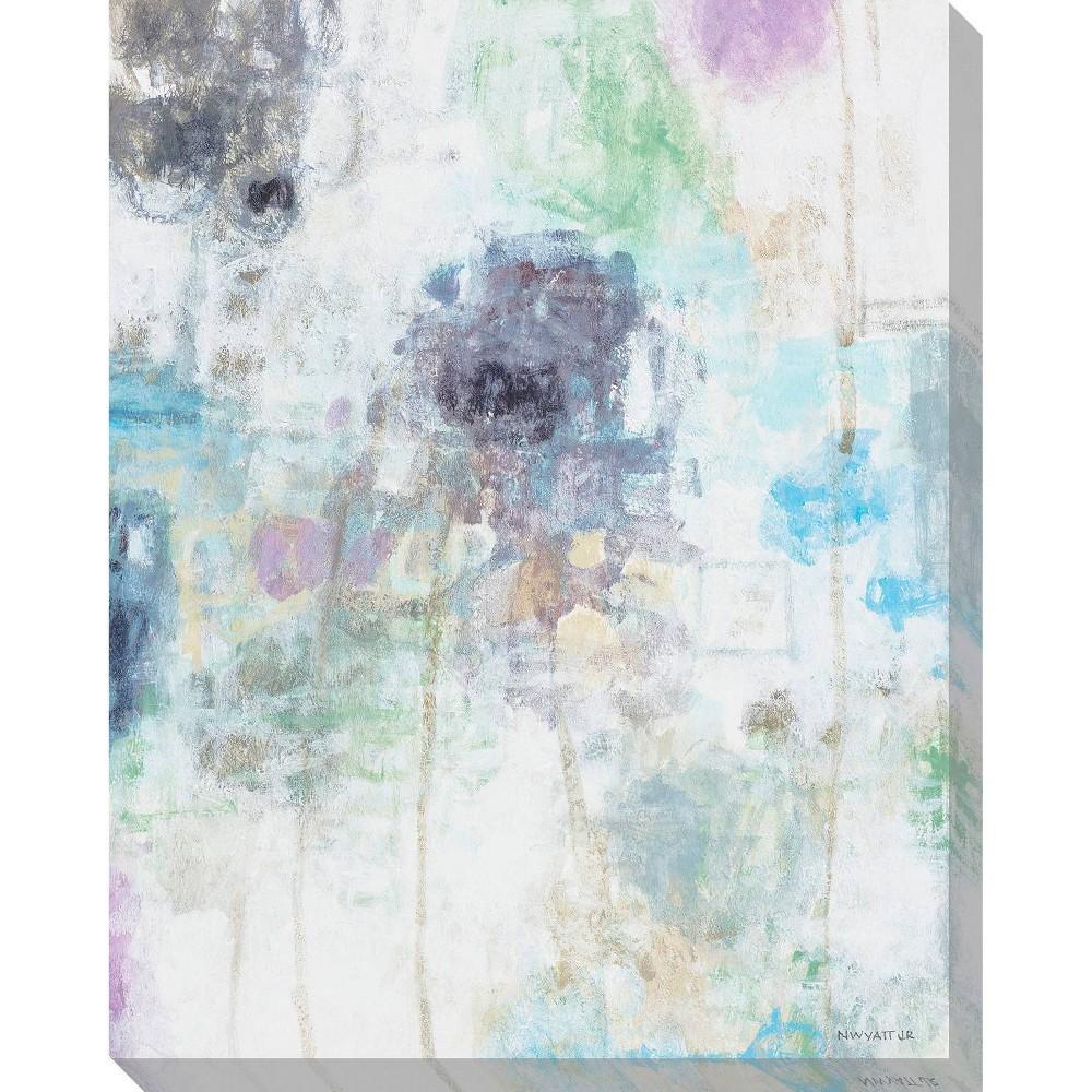 Image of Balance I Unframed Wall Canvas Art - (24X30)