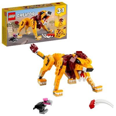 LEGO Creator 3in1 Wild Lion 31112