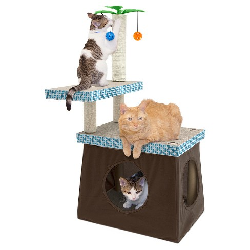 Kitty City Pet Activity Center - Multicolor - image 1 of 4