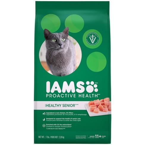 Iams Proactive Health Healthy Senior Dry Cat Food Target