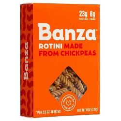 Banza Chickpea Pasta Rotini 8 Oz