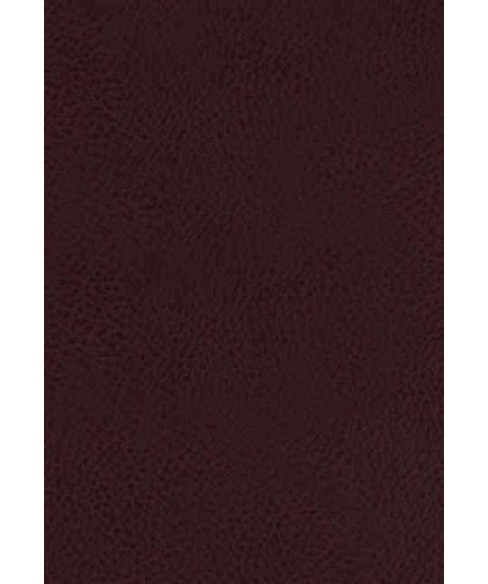 King James Study Bible : King James Version, Burgundy Bonded Leather: Full Color Edition (Large Print) - image 1 of 1