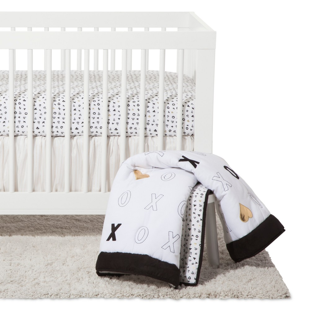 Image of NoJo Crib Bedding Set 4pc - Xoxo