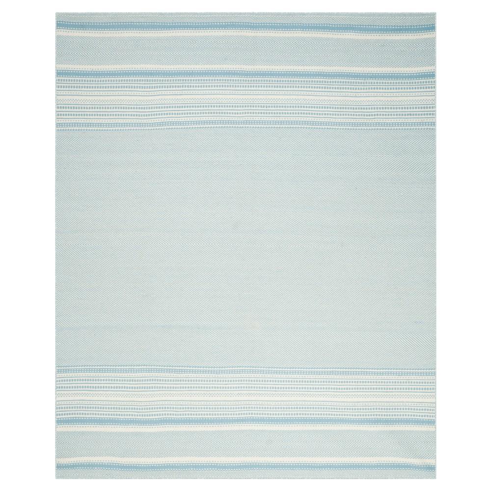 Rhea Area Rug - Light Blue / Ivory (9' X 12') - Safavieh